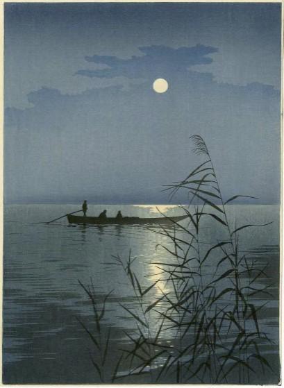 Koho Shoda (1871-1946), Scena notturna