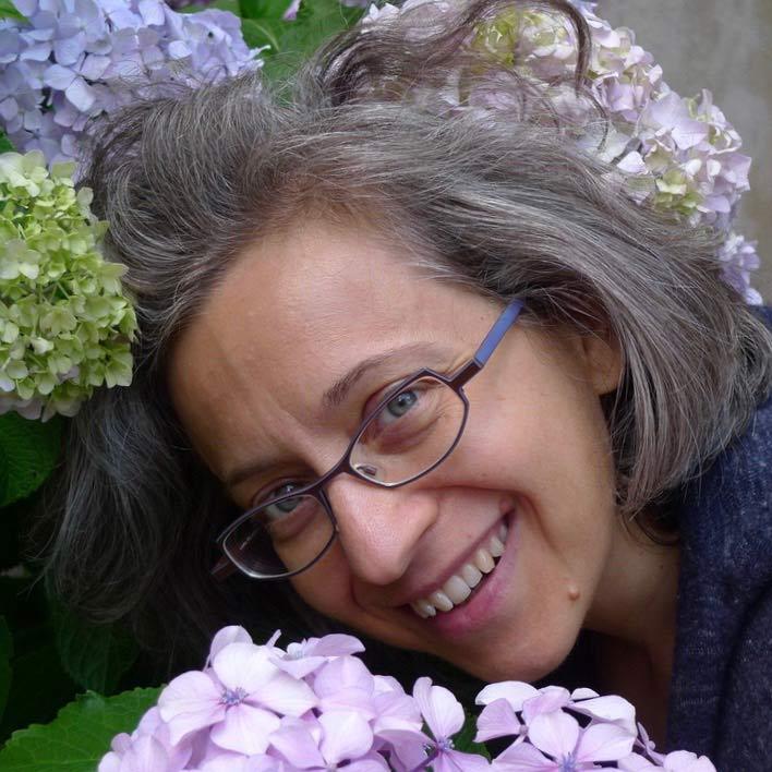 Jenny Favari, insegnante di Ikebana