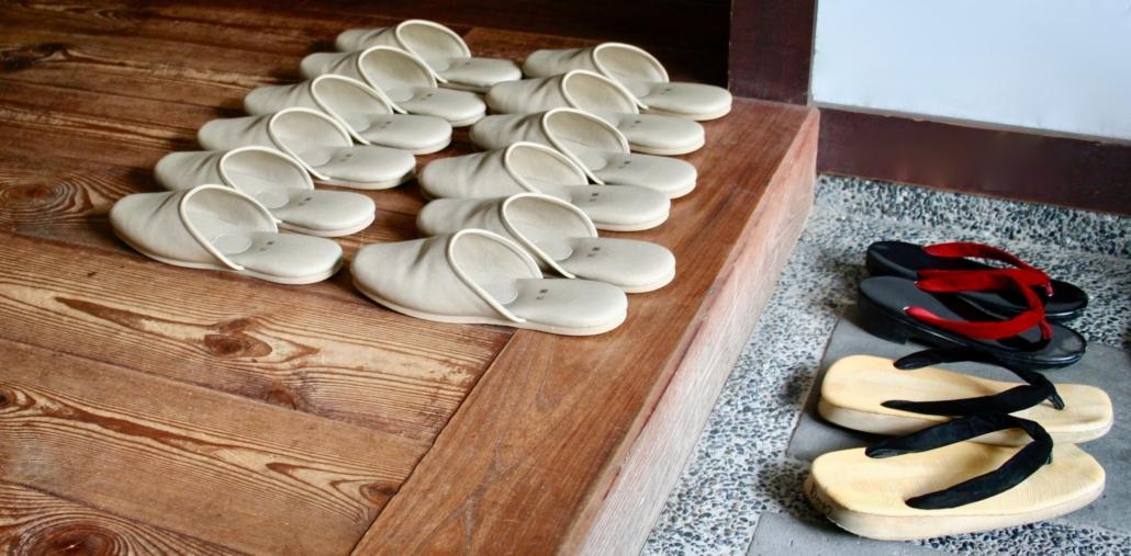 L'ikebana e il concetto di soglia