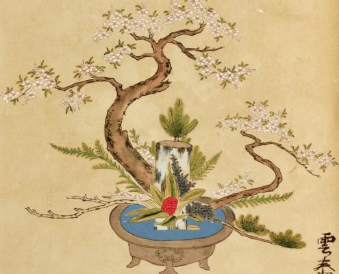 L'ikebana e l'albero. Storia dell'ikebana
